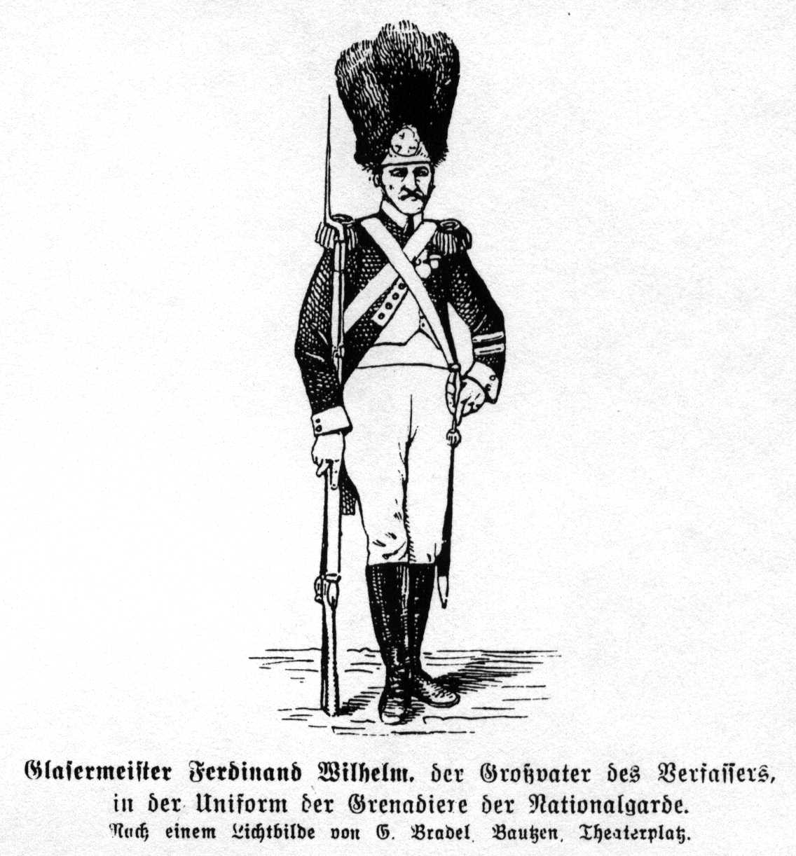 Grenadier der Nationalgarde